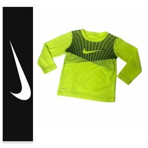 ~Boys size 4 Nike Dri fit athletic long sleeve top